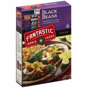 Fantastic Instant Black Bean, 6 oz, (Pack of 6)