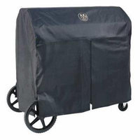 CROWN VERITY BC-36-BI Grill Cover, 24x38x16 In