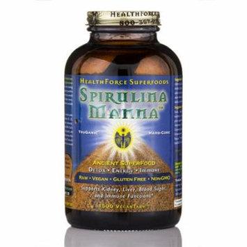 Spirulina Manna� - 1500 Tablets by HealthForce Nutritionals