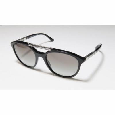 Giorgio Armani 8051 53-18-140 Black / Gunmetal Full-Rim Sunglasses