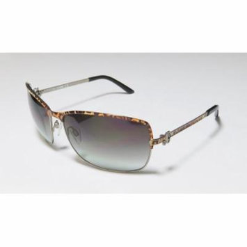 Just Cavalli Jc329s 61-15-125 Leopard Print / Gunmetal Full-Rim Sunglasses