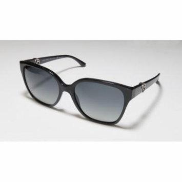 Giorgio Armani 8061 56-17-140 Black Full-Rim Sunglasses