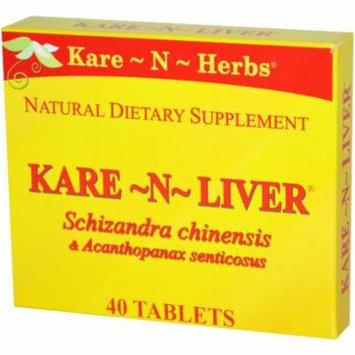 Kare-N-Herbs Kare-N-Liver Immune Enhancer, Antioxidant & Liver Cleanser, 40 CT