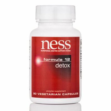 Detox (Formula 12) - 90 Vegetarian Capsules by Ness Enzymes