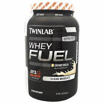 Twinlab Whey Protein Fuel, Vanilla, 2 LB