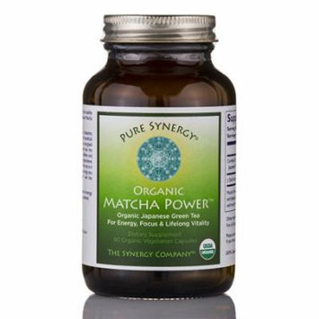 Organic Matcha Power� - 90 Organic Vegetarian Capsules by The Synergy Company