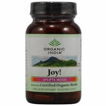 Organic India Joy Formula, Caplets, 90 CT