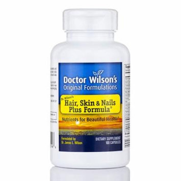 Hair, Skin & Nails Plus Formula� - 100 Capsules by Dr. Wilson's Original Formula