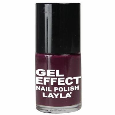 Layla Gel Effect Nail Polish, #12 Smooth Purple