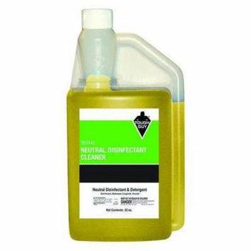 TOUGH GUY 116447 Disinfectant, 32 oz., Lemon