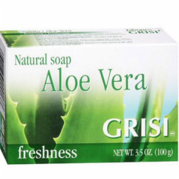 Grisi Aloe Vera Bar Soap 3.5 Oz (Pack of 4)