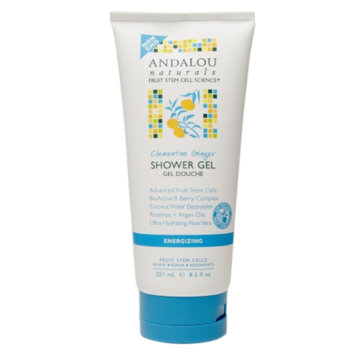 Andalou Naturals Shower Gel, Clementine Ginger, 8.5 fl oz