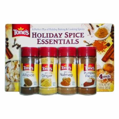 Tone's Holiday Spice Essentials 4 Pack