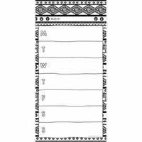 Color Me Magnetic 70 page Weekly List Pad