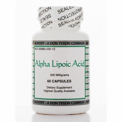 Alpha Lipoic Acid 300 mg - 60 Capsules by Montiff