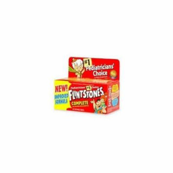 3 Pack Flintstones Complete Children's Multivitamin 60 count Each
