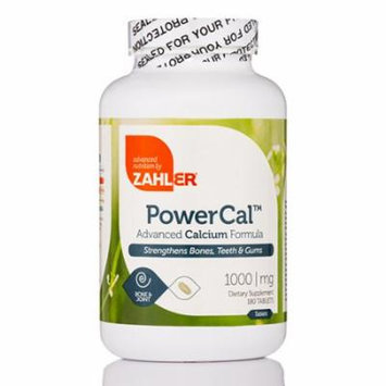 PowerCal - 180 Tablets by Zahler