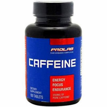 Prolab Caffeine Maximum Potency Tablets, 100 CT