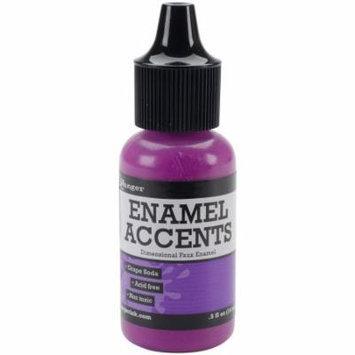 Inkssentials Enamel Accents .5Oz-Grape Soda