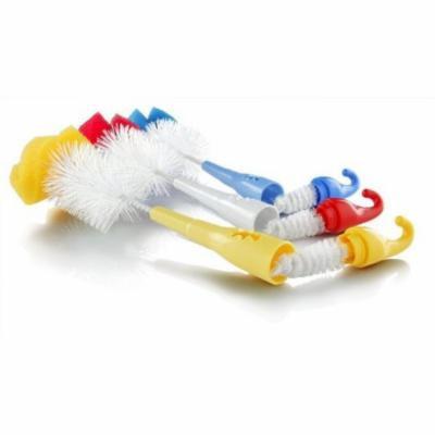 Baby Accessories - Nuby -Pack-of-2 Brush Bottle/Nipple w/Sponge Tip (1 Set Only)