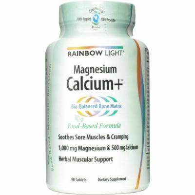 Rainbow Light Magnesium Calcium Plus Tablets, 90 CT