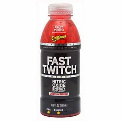 CytoSport Fast Twitch RTD, Fruit Punch, 12 CT
