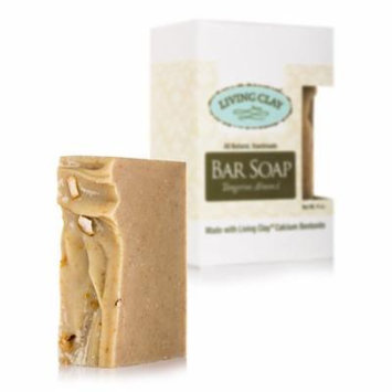 Bar Soap - Tangerine Almond - 4 oz by Living Clay