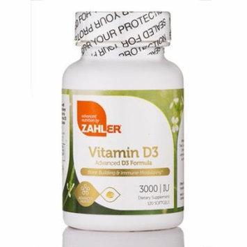 Vitamin D3 3000 IU - 120 Softgels by Zahler