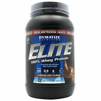 Dymatize 100% Whey Protein, Chocolate Fudge, 2 LB