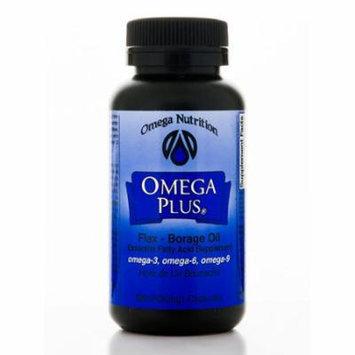 Omega Plus Flax Borage Oil - 120 Softgels by Omega Nutrition
