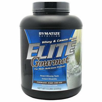 Dymatize Whey & Casein Blend, Cookies and Cream, 5 LB
