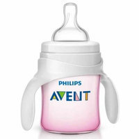 Philips Avent 4 Ounce Classic Plus Trainer Cup 1 Pack - Pink