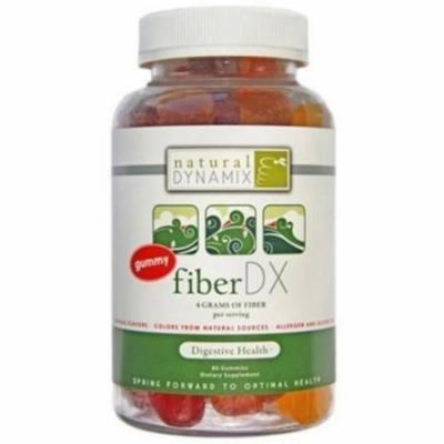 Natural Dynamix Fiber DX, Adult Gummy Vitamin for Digestive Health, 80 CT