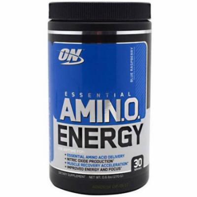 Optimum Nutrition Essential Amino Energy, Blue Raspberry, 30 SRV