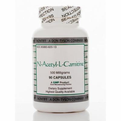 N-Acetyl-L-Carnitine 500 mg - 90 Capsules by Montiff