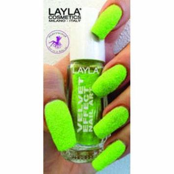 Layla Velvet Effect Nail Art, #7 Lemon Soft