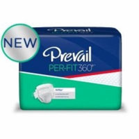 Incontinent Brief Prevail Per-Fit360 Tab Closure Large Disposable Heavy Absorbency (#PFNG-013-BG, Sold Per Bag)