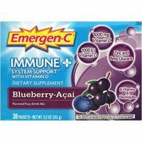 Emergen-C Flavored Fizzy Drink Mix, Immune Plus, Blueberry-Acai, 10 CT
