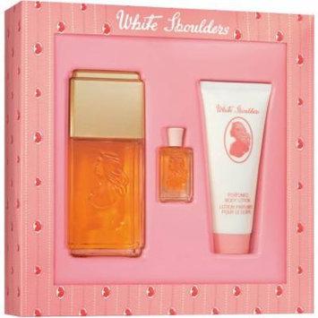 White Shoulders Fragrance Gift Set for Women, 3 pc