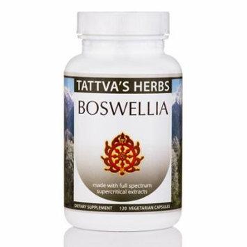 Boswellia Organic SC - 120 Vegetarian Capsules by Tattva's Herbs