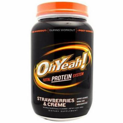 ISS Protein Powder, Strawberries & Creme, 2.4 LB