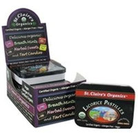 St Claires St. Claire's Organics - Herbal Sweets Licorice Pastilles - 1.5 oz.