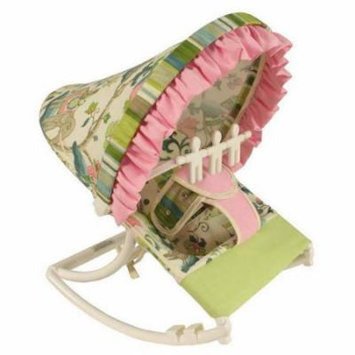 Hoohobbers Cirque Pink Rocking Infant Rocker Seat