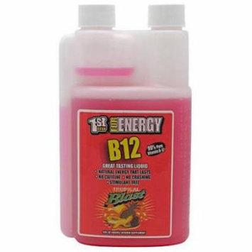 1st Step Energy B12, Tropical Blast, , 16 OZ
