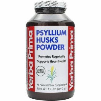 Yerba Prima Psyllium Husk Powder, 12 OZ