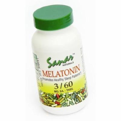 Sanar Naturals Melatonin 3mg 60 Capsules