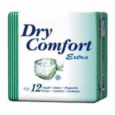 SCA Incontinent Brief Dry Comfort Tab Closure Medium Disposable Moderate Absorbency (#385, Sold Per Pack)