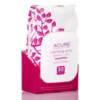 Carifying Acne Towelettes - 30 Count by Acure Organics