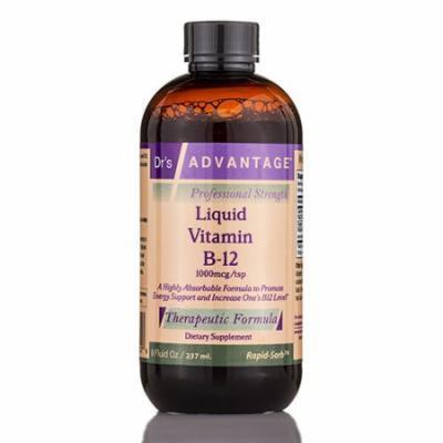 Liquid Vitamin B12 - 8 fl. oz (237 ml) by Dr's Advantage