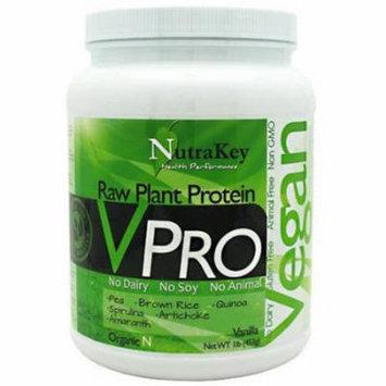 Nutrakey VPro, Vanilla, 1 LB
